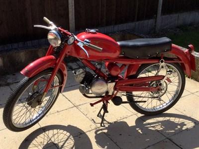 Lot 145-1953 Moto Guzzi Cardellino 65