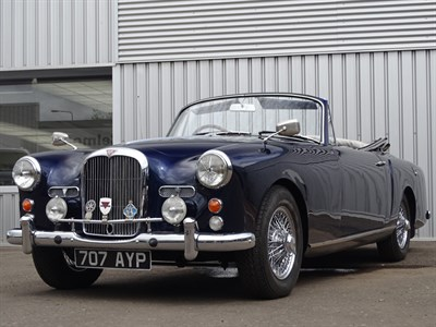Lot 18 - 1960 Alvis TD21 Drophead Coupe