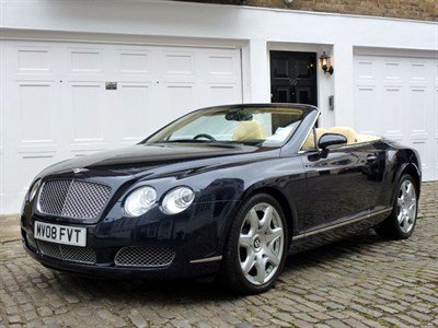 Lot 35 - 2008 Bentley Continental GTC