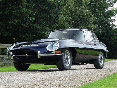 Lot 16-1964 Jaguar E-Type 3.8 Coupe
