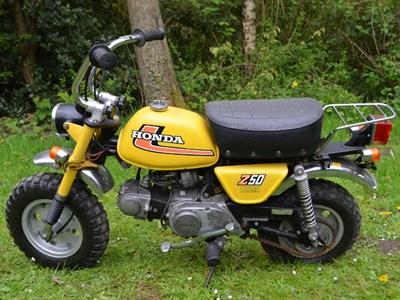 Lot 8-1978 Honda Z50J