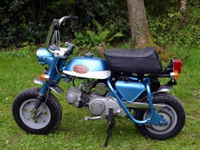 Lot 9-1972 Honda Z50A