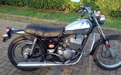 Lot 36-1976 Harley Davidson SS 125