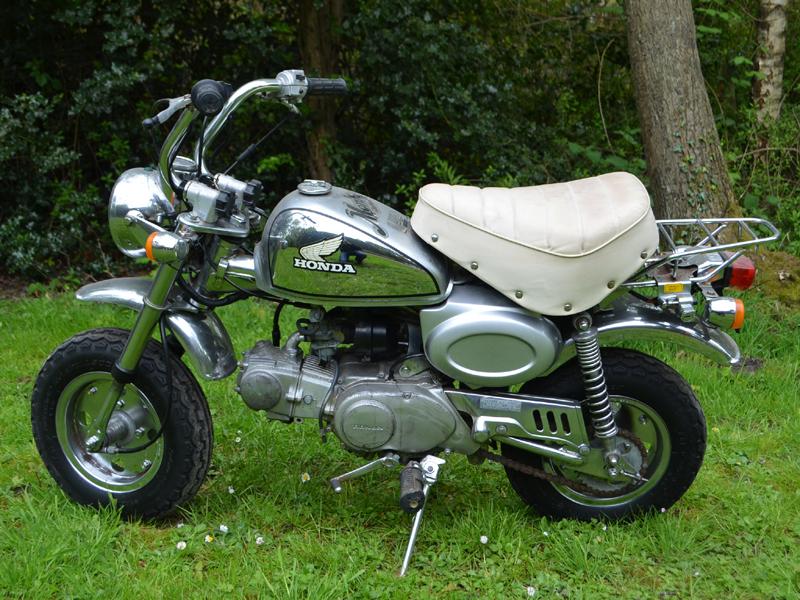 Lot 43-1979 Honda Z50J