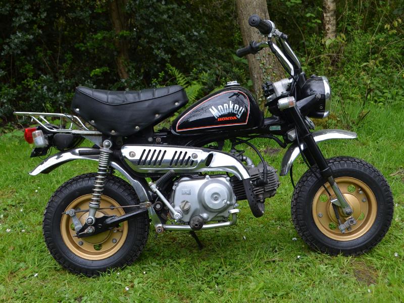 Lot 44 - 1984 Honda Z50J