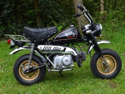 Lot 44-1984 Honda Z50J