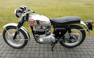 Lot 46-1955 BSA A10 Rocket Gold Star Replica