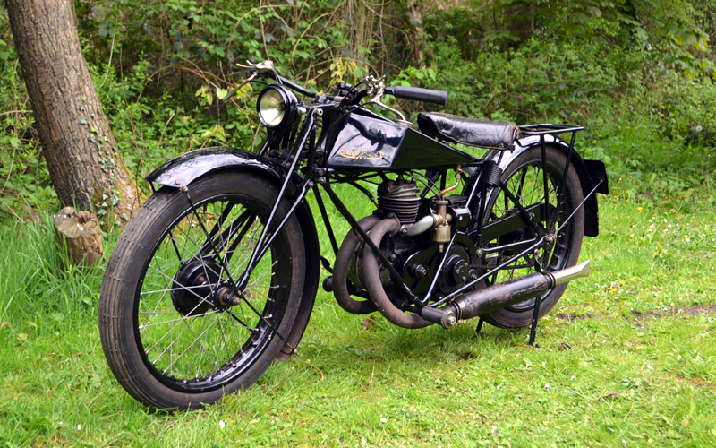 Lot 51-1927 Francis Barnett TT
