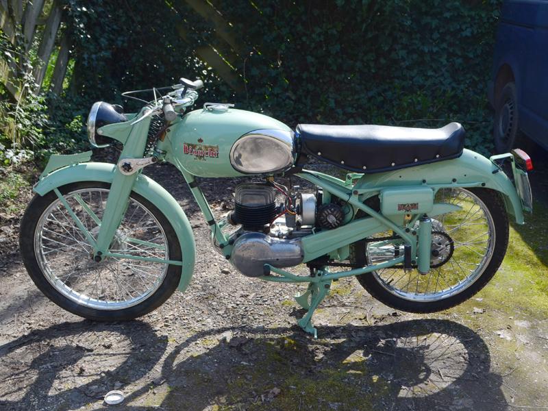 Lot 90-1956 Bianchi Scudo Del Sud 125