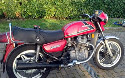 Lot 93-1978 Honda CX500