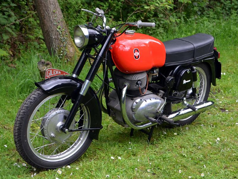 Lot 94-1961 Gilera B300 Twin