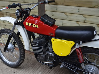 Lot 95-1975 Beta GS125