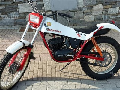 Lot 98-1982 Montesa Cota 123