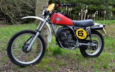 Lot 100-1976 Fantic 125 Regolarita Competizione
