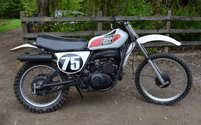 Lot 102-1975 Yamaha MX250