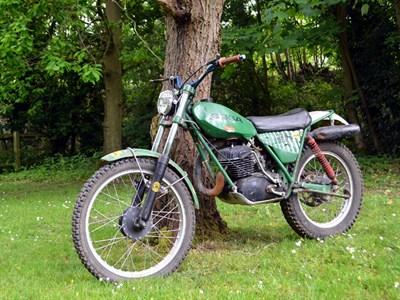 Lot 105-1977 Ossa TR 77 350