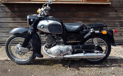 Lot 108-1961 Honda C92 Benly