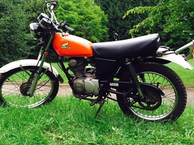 Lot 109-1974 Honda XL125