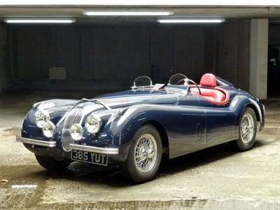 Lot 38-1954 Jaguar XK120 SE Roadster