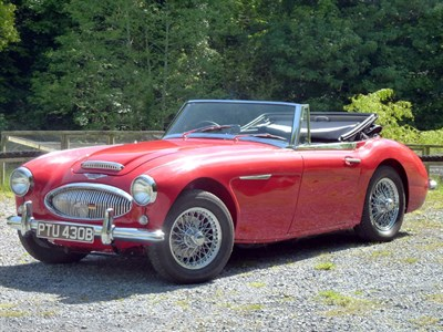 Lot 14-1964 Austin-Healey 3000 MKIII