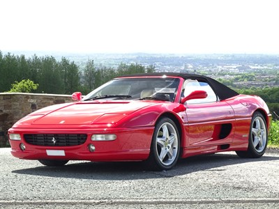 Lot 44 - 2000 Ferrari F355 Spider