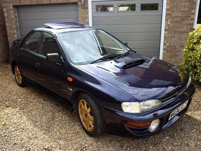 Lot 2-1995 Subaru Impreza Series McRae