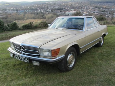 Lot 45-1972 Mercedes-Benz 350 SL
