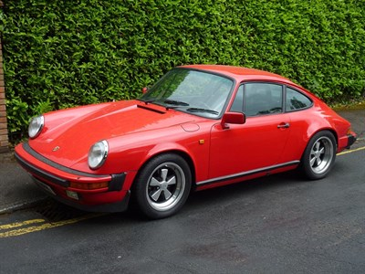 Lot 13-1984 Porsche 911 Carrera 3.2