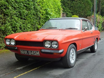 Lot 41-1973 Ford Capri RS 3100 Evocation