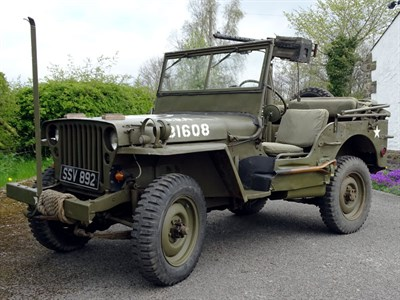Lot 85-1945 Ford GPW Jeep