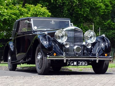 Lot 74-1938 Bentley 4.25 Litre James Young Sedanca Coupe