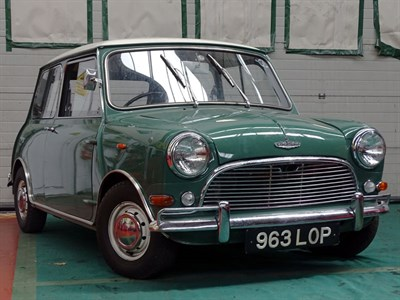 Lot 69-1964 Austin Mini Cooper S 1071 'Hatchback'