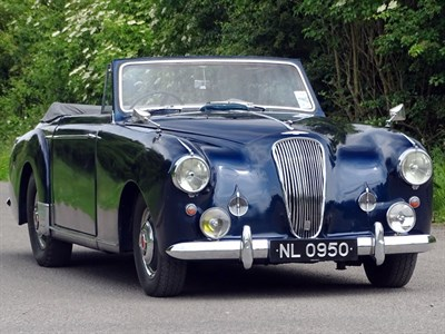 Lot 28-1953 Lagonda DB 2.6/3.0 Litre Drophead Coupe