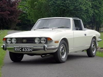 Lot 48 - 1970 Triumph Stag