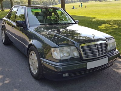 Lot 49-1991 Mercedes-Benz 500 E