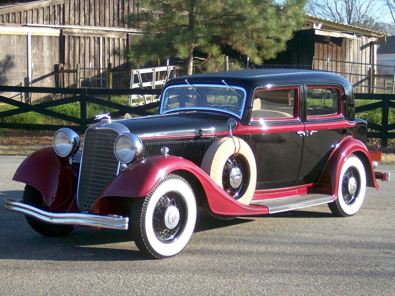 Lot 13-1933 Lincoln Model KA Town Sedan