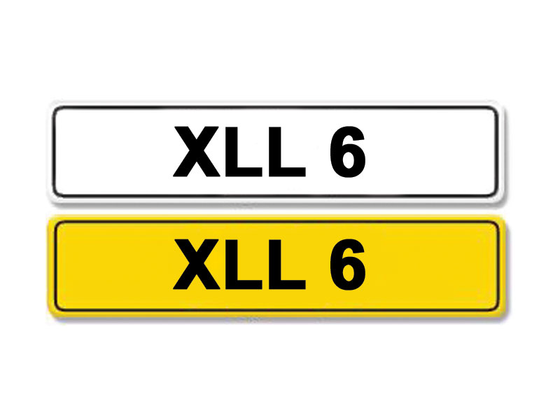 Lot 1-Registration Number XLL 6