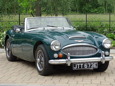 Lot 56 - 1967 Austin-Healey 3000 MKIII