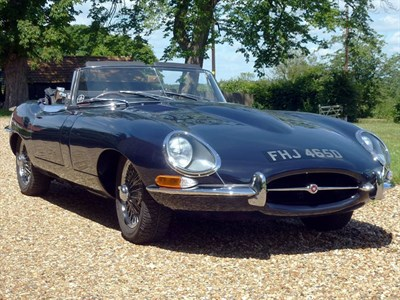Lot 71-1966 Jaguar E-Type Roadster