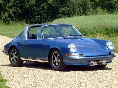 Lot 79 - 1972 Porsche 911 S 2.4 Targa