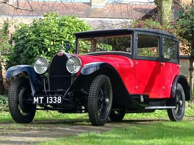 Lot 89 - 1929 Bugatti Type 44 Vanvooren Saloon