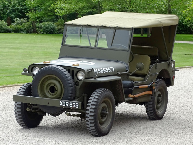 Lot 12-1943 Ford GPW Jeep