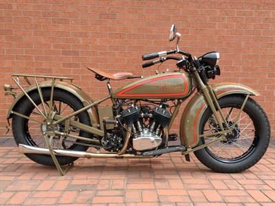Lot 33 - 1929 Harley Davidson Model D