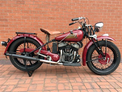 Lot 51 - 1945 Indian Scout 741