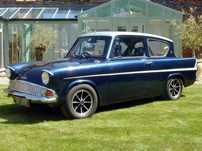 Lot 27-1960 Ford Anglia 105E Race Car