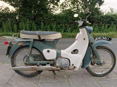 Lot 68 - 1964 Honda C100