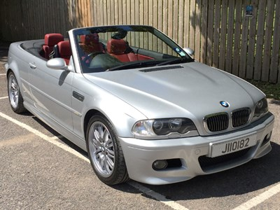 Lot 26-2003 BMW M3 Convertible