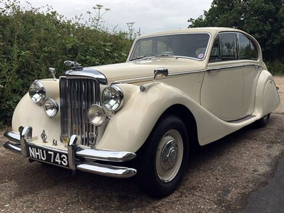 Lot 9-1950 Jaguar MK V 3.5 Litre Saloon