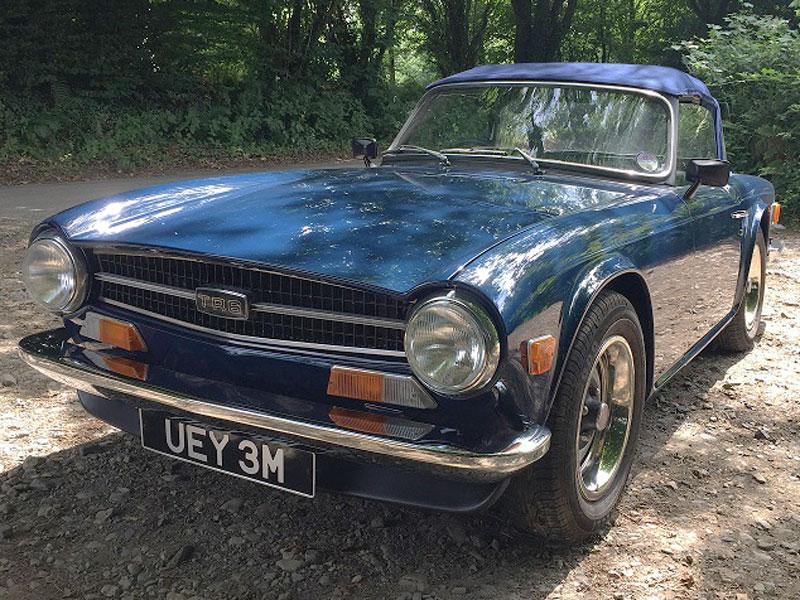 Lot 35-1973 Triumph TR6