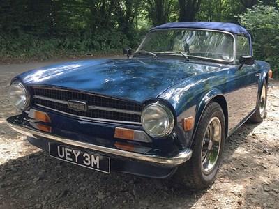 Lot 35 - 1973 Triumph TR6